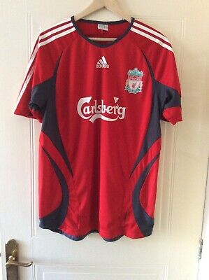 "Liverpool 06 - 07 Football Training Shirt - Adult Size 42/44"" - See Description"