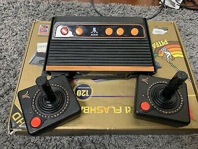 Atari Flashback 8 Gold Console HD (2 controllers, 120 built-in games!)