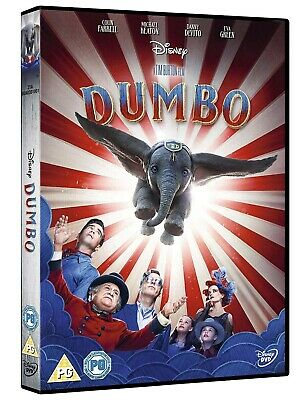 Dumbo 2019 DVD. New and sealed. Free postage Next Day Delivery