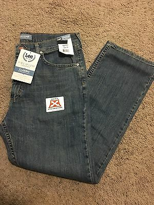 NWT MENS Lee Jeans 38x30 Premium Select Regular Fit W\Stretch MSRP$48.00 2001998