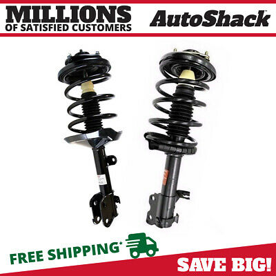 Front Pair (2) Complete Struts Assembly w/coil springs Fits 2003-2006 Acura MDX