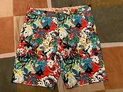 NEW Robert Graham Classic Fit FLORAL PARADISE Board Shorts Swim Trunks
