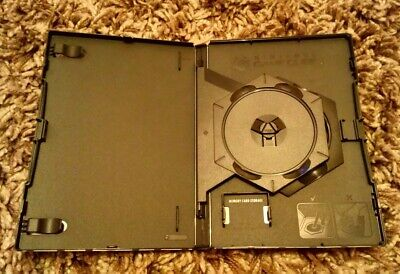 Nintendo GameCube EMPTY Replacement DOUBLE Game Case + Memory Card Holders