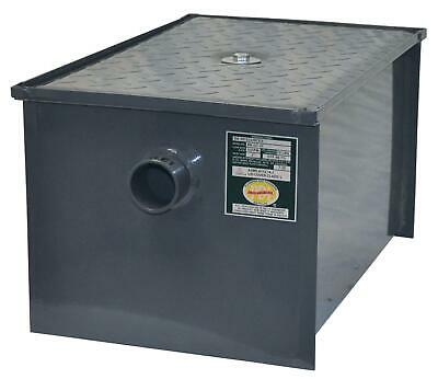 BK Resources BK-GT-30 30 lb Grease Trap Interceptor 15 Gallons Per Minute