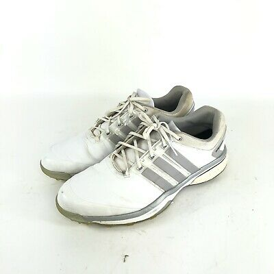 Adidas Adipower Boost White/Silver Golf Shoes Q46752 Men's Size 12