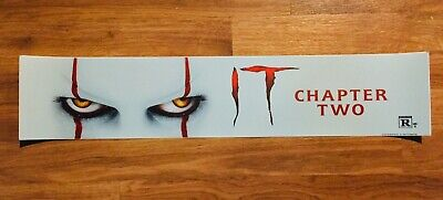 ⭐🎈  IT: Chapter 2 - Movie Theater Poster / Mylar SMALL Vers - 2x12 - Pennywise