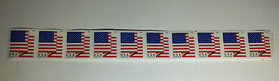 10 USPS Forever Stamps US Star Spangled Banner Flag 2018 Postage Coil Sheet USA!