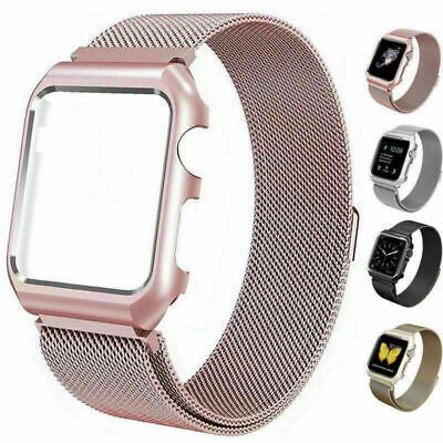 For Apple Watch Band 38/42/40/44mm Series 4 3 2 iWatch Strap Wristband Women Men