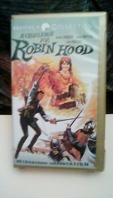 The Hammer Collection: A Challenge for Robin Hood widescreen UNRATED 1974 VHS
