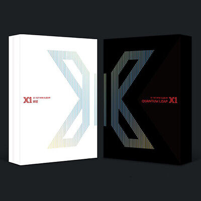 X1 FLY:QUANTUM LEAP 1st Mini Album CD+POSTER+Photo Book+Stand+Card+B.Mark SEALED