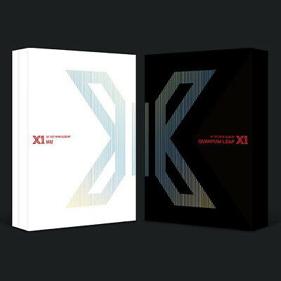 X1 [FLY:QUANTUM LEAP] Album 2 Ver SET+POSTER+2Book+2Stand+2Card+2Mark+2Pre-Order