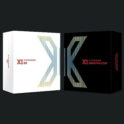 X1 [FLY:QUANTUM LEAP] 1st Mini Kihno Album Kit+Title&Credit Card+11p Photo Card