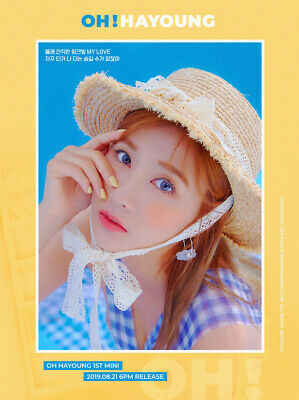 APINK OH HAYOUNG [OH!] 1st Mini Album CD+POSTER+Photo Book+Card+Pre-Order SEALED