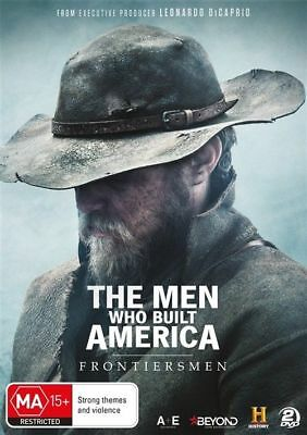 The Men Who Built America - Frontiersmen (DVD, 2018, 2-Disc Set) New & Sealed