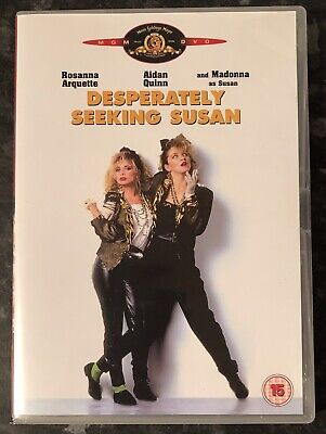 Desperately Seeking Susan Dvd 1985 (Madonna) As Good As New Mint Condition