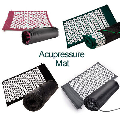 Acupressure Massage Mat 75x44CM for Stress/Pain/Tension Relief Body Relax