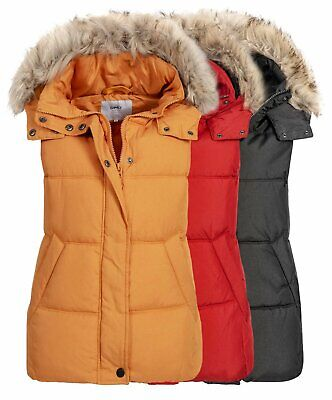 low priced dce9b 13854 GEOGRAPHICAL NORWAY DAMEN Weste VAFNE LADY mit Kapuze ...
