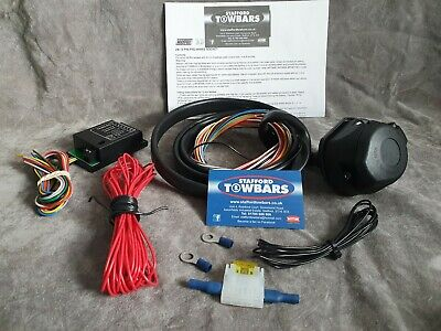 Towbar TEB7AS Smart 7 Way Bypass Relay Kit TEC3M Split charge relay system