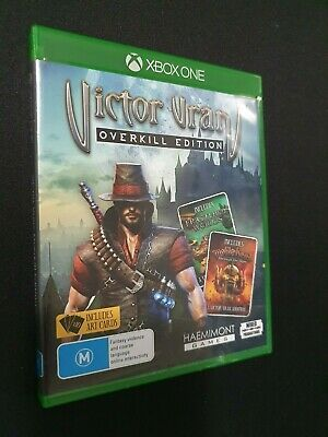 """Xbox One -- Victor Vran """"Overkill Edition"""" Inc Motorhead expansion - USED"""