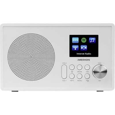 Medion e85080 md87528 Internet Radio de Table aux Fm WLAN USB Spotify Blanc