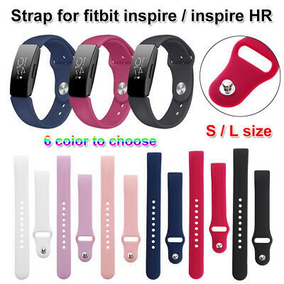 Silicone Watch Band Replacement Bracelet Strap For Fitbit inspire / inspire HR
