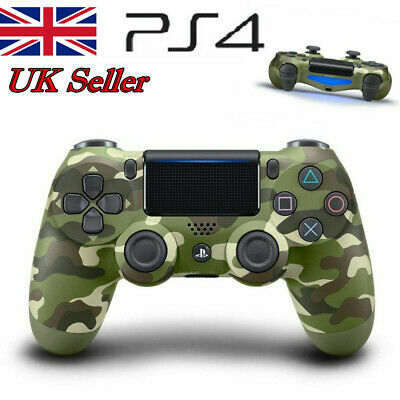 Camo DualShock 4 Wireless Joystick Game Controller For Sony PS4 Playstation UK
