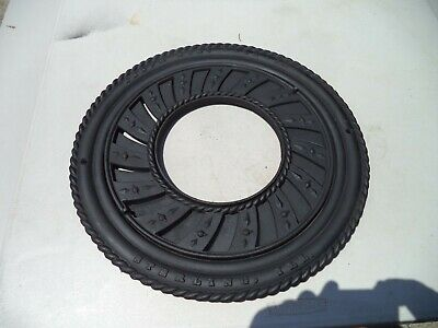 Antique Cast Iron Stove Pipe Round Louvre Register Floor Grate STERLING IL