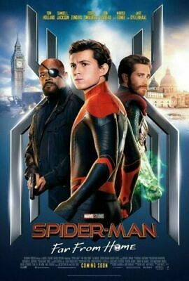 FAR FROM HOME MOVIE POSTER MARVEL COMICS 17625 22x34 SPIDER-MAN