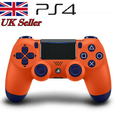 PS4 DualShock 4 Wireless Bluetooth Game Controller for Sony PlaySation 4 Orange