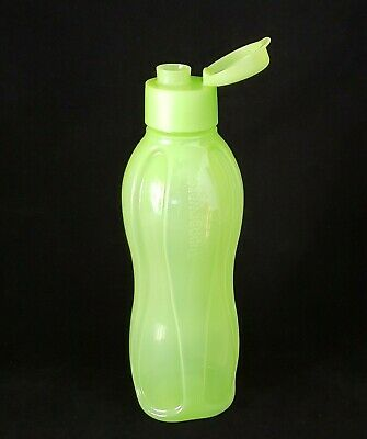 Free Ship Tupperware LARGE ECO WATER Bottle 36oz /1 Liter daily drink NEW Salsa
