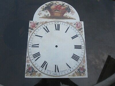 Painted Grandfather/Longcase Clock Arched Dial Face