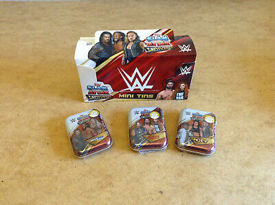 Topps Wwe Slam Attax Universe Trading Cards Mini Tin Smackdown Or Raw Or Nxt