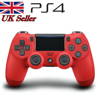 PS4 DualShock 4 Wireless Bluetooth Game Controller for Sony PlaySation 4 Red UK
