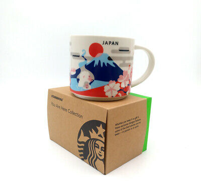 Starbucks 14oz You Are Here Collection Coffee Mug Cup YAH Tokyo Japan City New