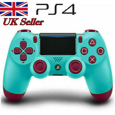 PS4 DualShock 4 Wireless Gamepad Controller for Sony PlaySation 4 Berry Blue UK