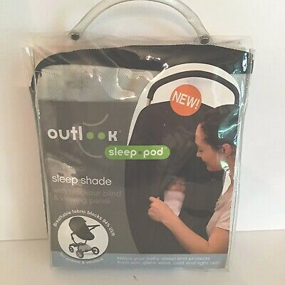 Outlook Sleep Pod / Universal Sleep Shade with Blockout Blind & Viewing Panel