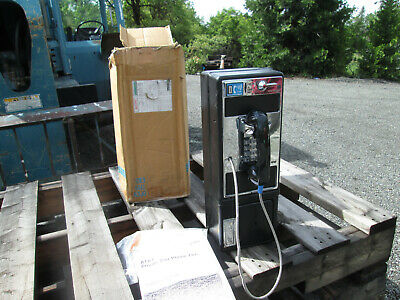 ATT Chrome Pay Phone---brand new with keys and instructions