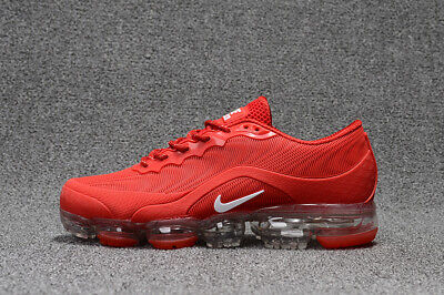 Men's Nike Air Vapormax 2018 Shoes Red and white