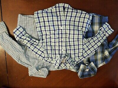 Lot Of 3 baby boy Shirts Gymboree Crazy 8 Button Down Size 6-12 months