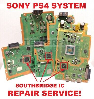 FIX BROKEN SONY PS4 System No Video/HDMI Encoder IC/White