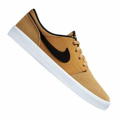 good selling newest best sneakers NIKE SB PORTMORE Ii Solar Homme Tan Navy Suede et Synthetique ...