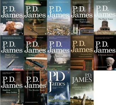 Adam Dalgliesh Mystery 14-Audiobooks Collection by PD James⚡Email Delivery(10s)⚡