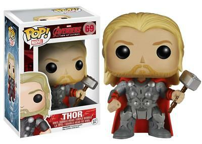 Funko Pop Marvel Movies Avengers 2 Thor Bobble Head Vinyl Action Figure Toy 4780