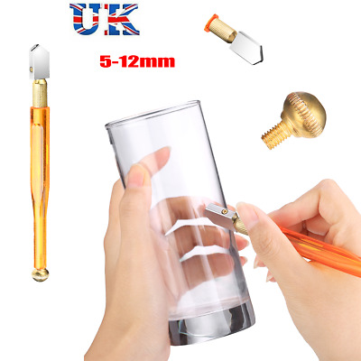 Glass Cutter Oil Lubricated Professional Tool Cut 5-12mm Mirror & Glasses Tool