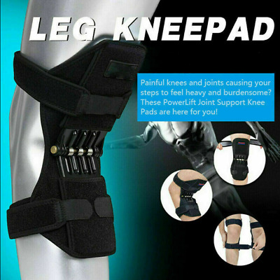 Power Lift Joint Support Knee Stabilizer Pad Powerful Rebound Spring Force