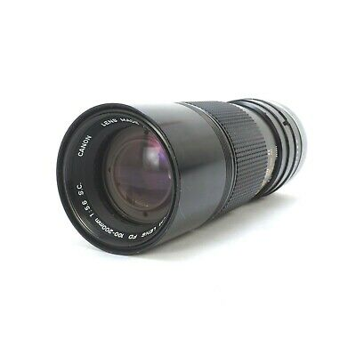 * Canon Zoom Lens FD 100-200mm F/5.6