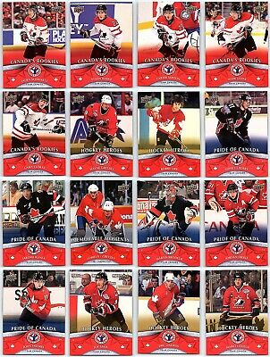 2012-13 UD NATIONAL HOCKEY CARD DAY Complete 17 Card Set Lot Gretzky Orr RC Rare