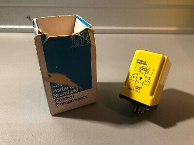 New In Box Potter And Brumfield Time Delay Relay Cdf-38-70002