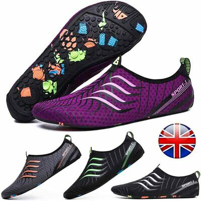 UK Aqua Beach Surf Wet Water Shoes Mens Womens Quick Dry Diving Swim Size 3-12.5