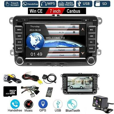 "2DIN 7""  Autoradio NAVI DVD GPS Für VW GOLF 5 6 PASSAT TIGUAN TOURAN Sharan POLO"